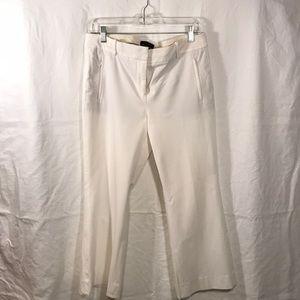 JCrew Teddie Pants in white